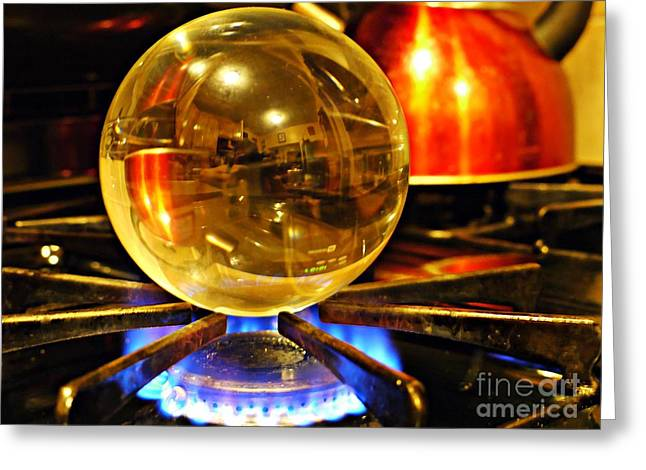 Crystal Ball Project 5 Greeting Card