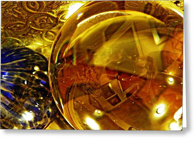 Crystal ball greeting cards page 8 of 109 fine art america crystal ball project 81 greeting card m4hsunfo
