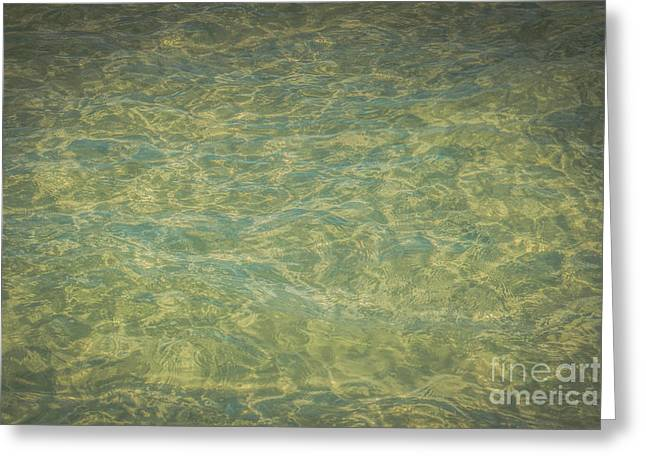 Crystal Clear Atlantic Ocean Key West - Hdr Style Greeting Card by Ian Monk