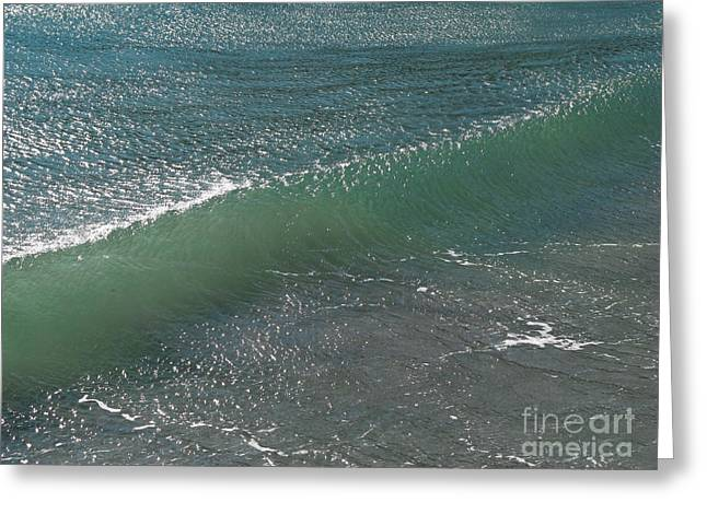 Crystal Clear Wave Movement Greeting Card by Kiril Stanchev