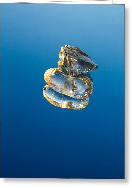 Crystal Consciousness Greeting Card by Mario Morales Rubi