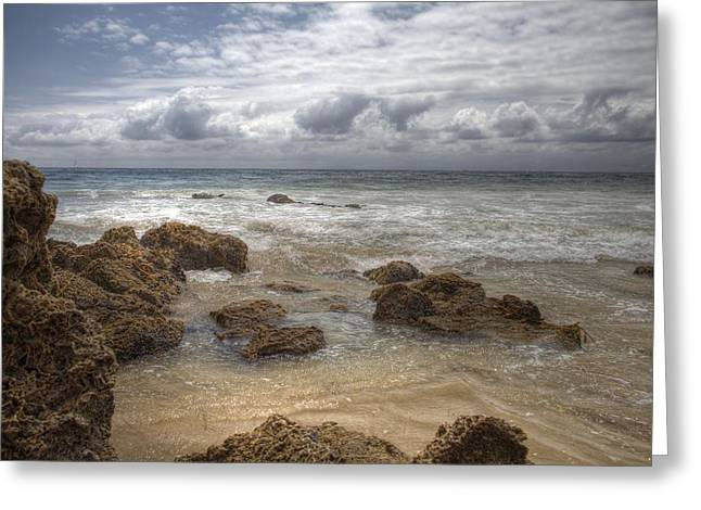 Crystal Cove Beach Greeting Card by Sharon Beth