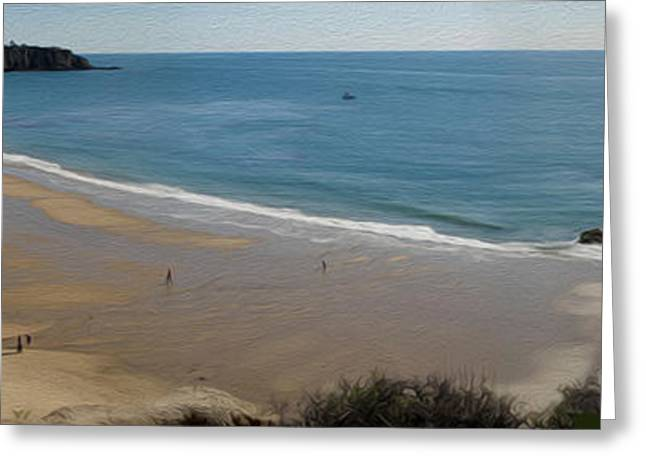 Crystal Cove View - 01 Greeting Card