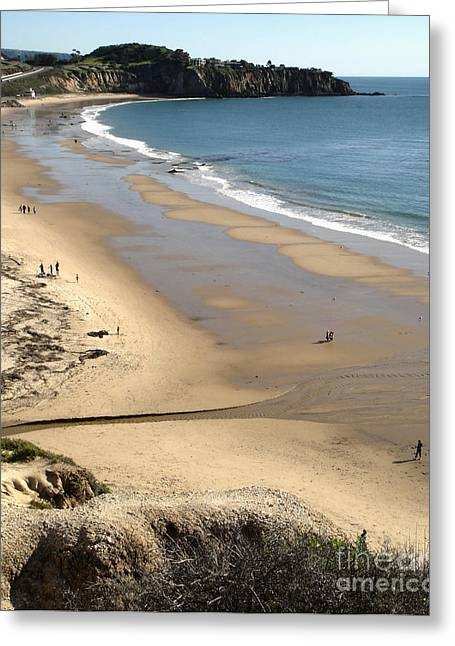 Crystal Cove View - 03 Greeting Card by Gregory Dyer