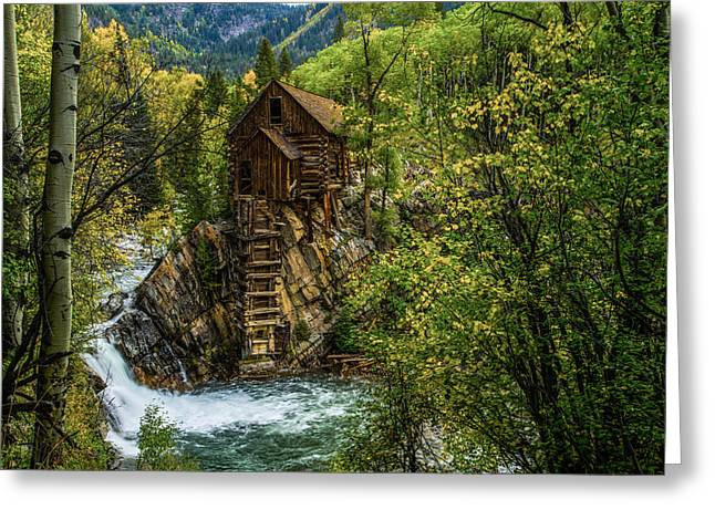 Crystal Mill Co Greeting Card