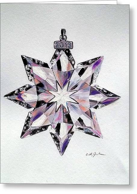 Crystal Ornament Greeting Card