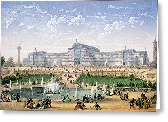 Crystal Palace, Sydenham, C.1862 Greeting Card