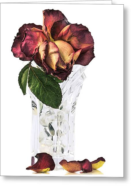 Crystal Rose Greeting Card