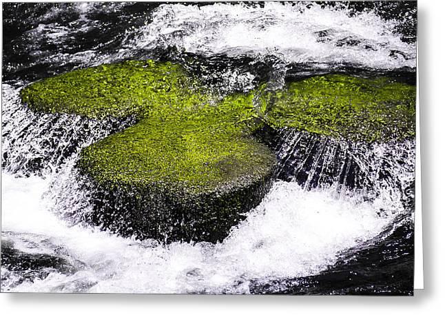 Crystal Water  Greeting Card by Sotiris Filippou