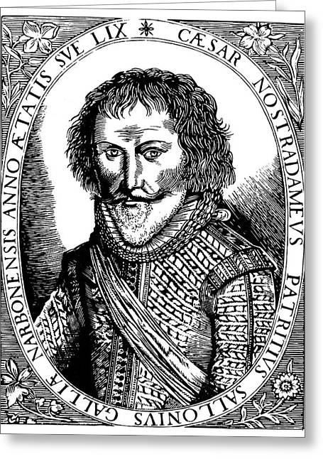 C�sar Nostradamus (1555-1629) Greeting Card