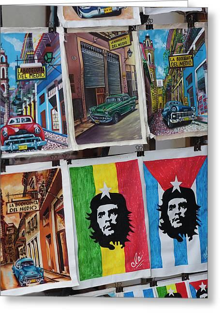 Cuba, Havana, Havana Vieja, Centro Greeting Card