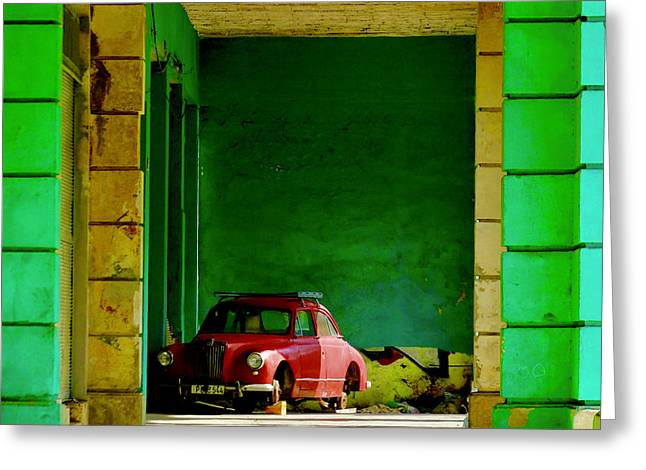 Cuba Impression No.17  (havana, December 25, 2017) Greeting Card
