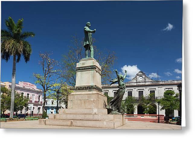 Cuba, Matanzas Province, Matanzas Greeting Card by Walter Bibikow
