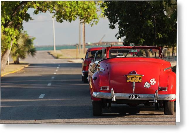 Cuba, Matanzas Province, Varadero, 1948 Greeting Card by Walter Bibikow