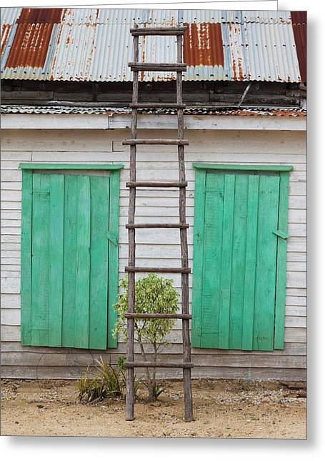 Cuba, Pinar Del Rio Province, San Luis Greeting Card by Walter Bibikow