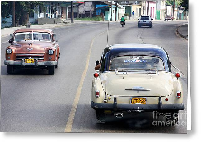 Cuba Road Greeting Card