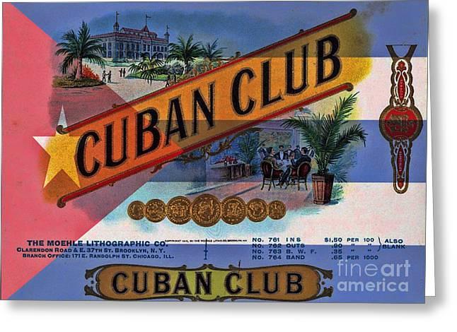 Cuba Vintage Greeting Card