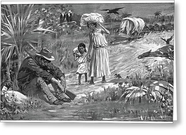 Cuba Yellow Fever, 1898 Greeting Card by Granger