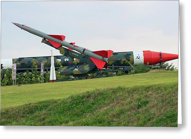 Cuban Missile Crisis Display. Greeting Card by Mark Williamson