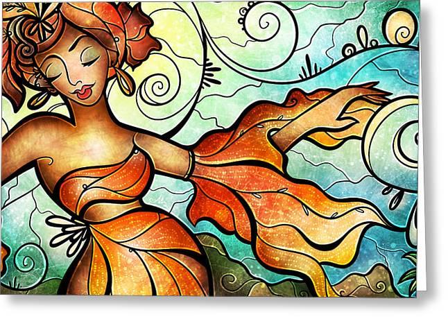 Cubana Greeting Card
