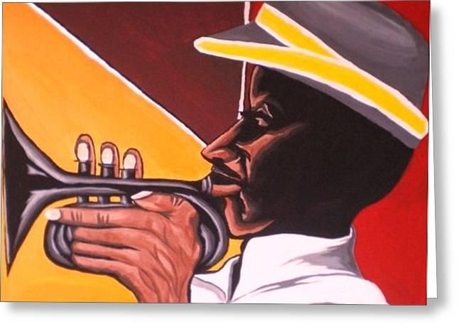 Cubanhorn Greeting Card by Donald Lyons