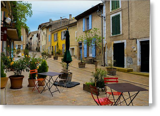 Cucuron In Provence Greeting Card by Dany Lison
