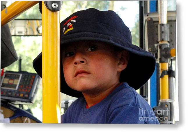 Cuenca Kids 252 Greeting Card by Al Bourassa