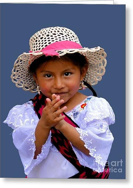 Cuenca Kids 318 Greeting Card