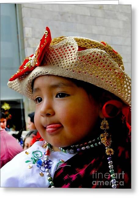 Cuenca Kids 342 Greeting Card