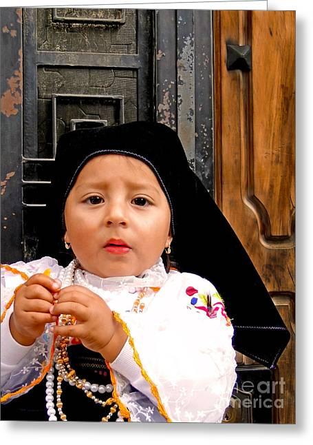 Cuenca Kids 343 Greeting Card