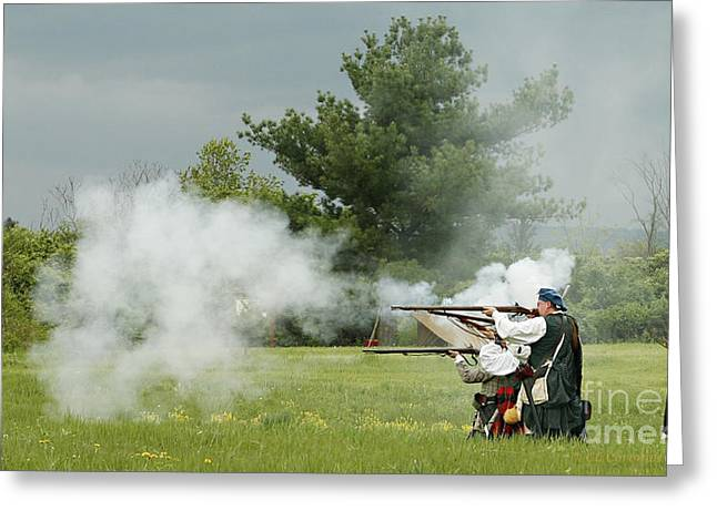 Greeting Card featuring the photograph Culloden Jacobites by Carol Lynn Coronios