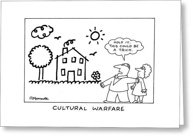 Cultural Warfare Greeting Card