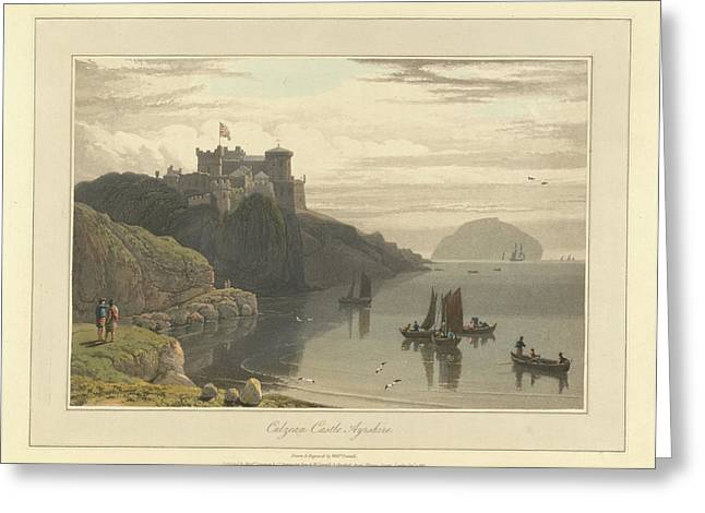Culzean Castle In Ayrshire Greeting Card by British Library