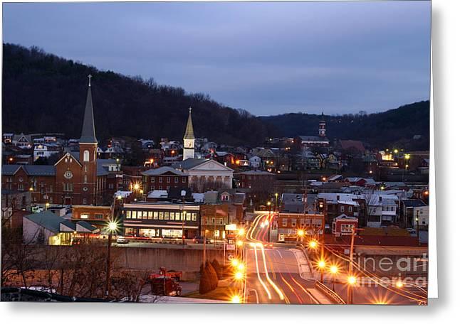 Cumberland At Night Greeting Card
