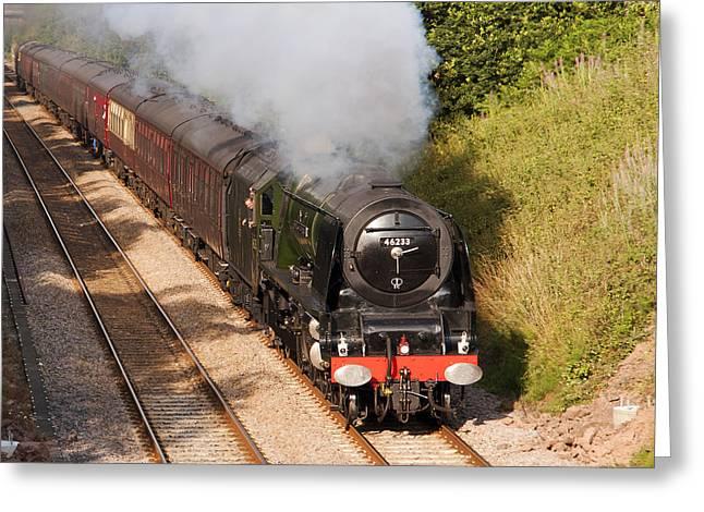 Cumbrian Express II Greeting Card