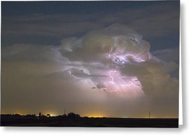 Cumulonimbus Cloud Explosion Greeting Card by James BO  Insogna