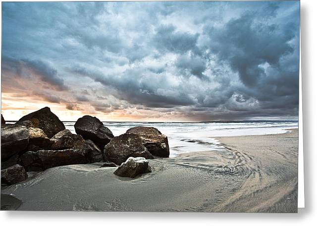 Greeting Card featuring the photograph Cumuloterra by Ryan Weddle