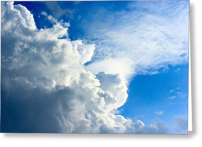 Cumulus Cloud Greeting Card