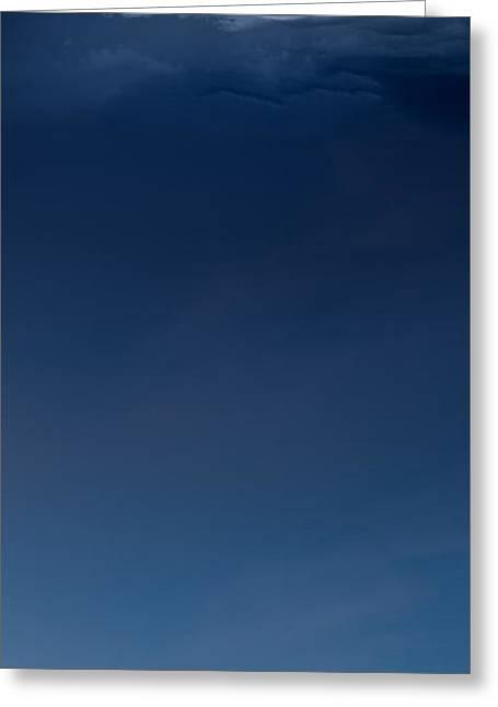 Cumulus Greeting Card by Leland D Howard