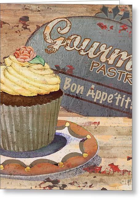 Cupcake Baking Sign Iv Greeting Card