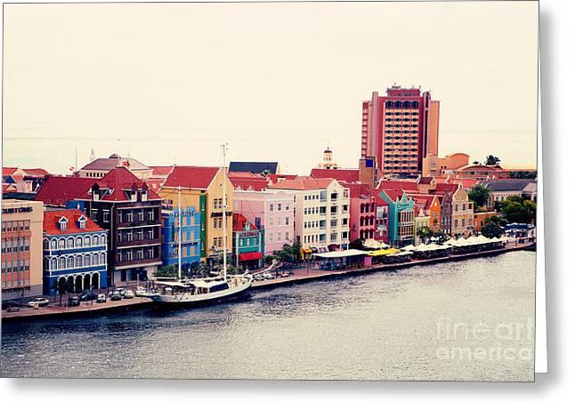 Curacao Greeting Card by Kim Fearheiley