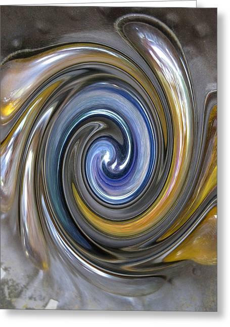 Curlicue Twirl Greeting Card
