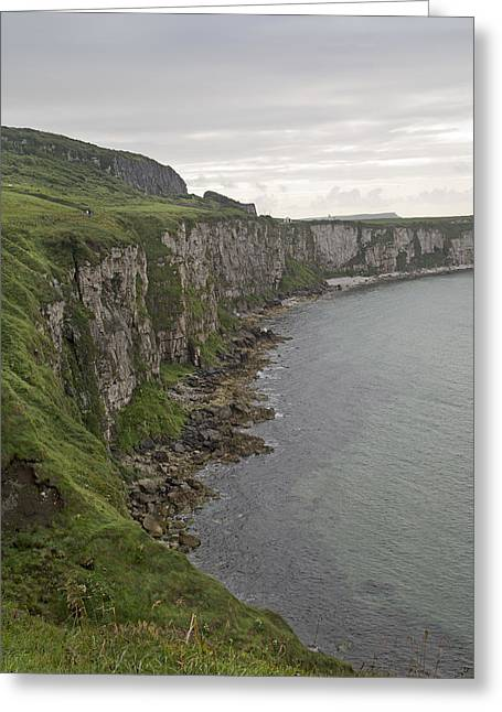 Carrick-a-rede Cliffs Greeting Card