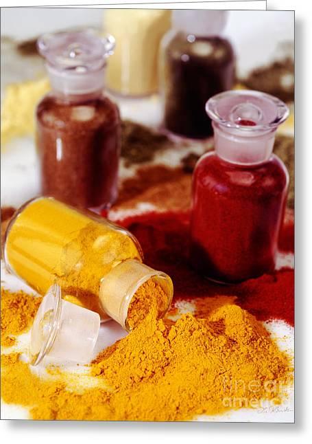 Curry Powder Greeting Card