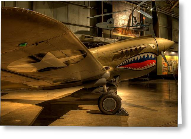 Curtiss P-40 Warhawk Greeting Card