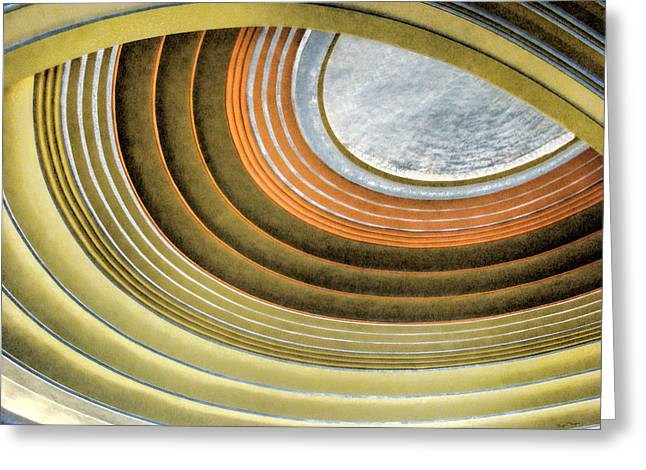 Curving Ceiling Greeting Card