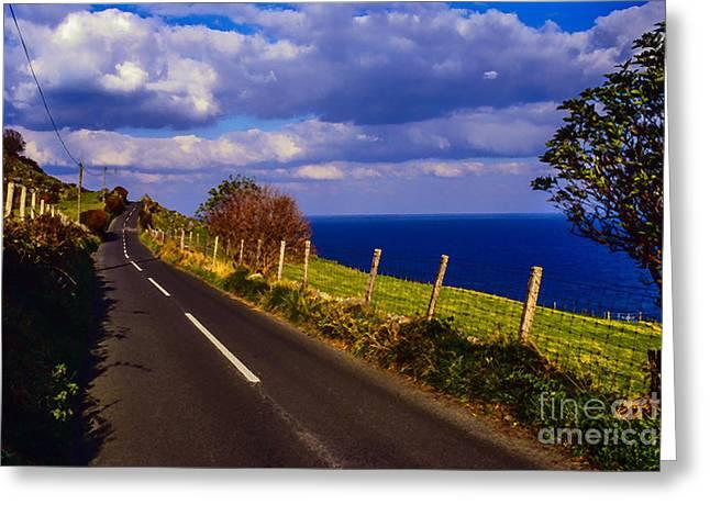 Cushendun Ballycastle Coast Road Greeting Card