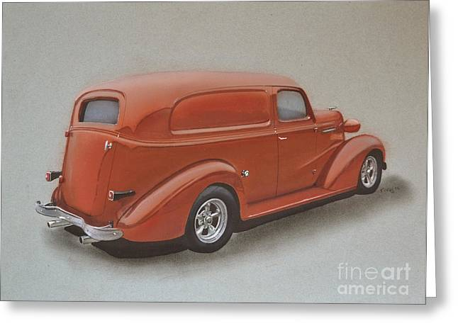 Custom Delivery Truck Greeting Card