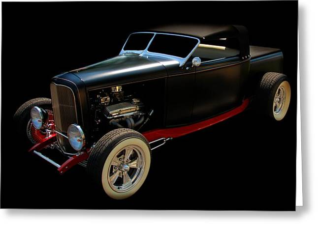Classic Car Greeting Card featuring the photograph Custom Hot Rod by Aaron Berg