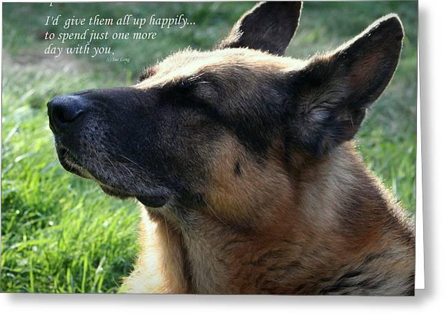 Custom Paw Print Sheba Greeting Card
